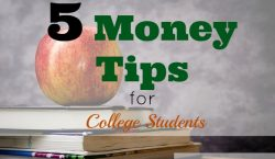 Tips for College Students, money tips for college students, being thrifty in college, saving in college