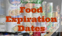 food expiration dates, canned food, expiration date