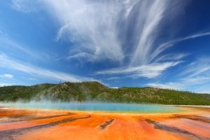 Grand Prismatic Spring. Copyright: wirepec / 123RF Stock Photo
