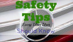 safety tips, uber driver, uber passenger