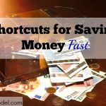 save money quick, save money fast, quick cash, saving money
