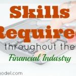 finance industry, job requirement, skills requirement