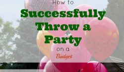 party on a budget, budgeting tips, party tips