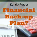 financial tips, financial advice, financial back-up plan