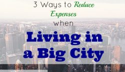 reducing expenses, living expenses tips, city living expenses