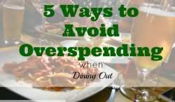 eating out, saving money on dining out, eating out tips
