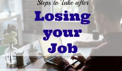 job tips, job advice, job loss advice