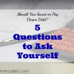 investment tips, pay down debt, debt tips