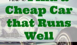 second-hand car purchase, car purchasing tips, cheap car tips