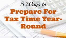 tax tips, preparing for tax time, ways to prepare for tax