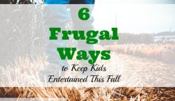 kids and autumn, frugal ways to entertain kids, frugal fall for kids