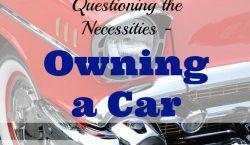 Owning a car, car sharing, car, having a car, buying a car