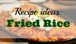 Fried Rice. rice. weekday meal,
