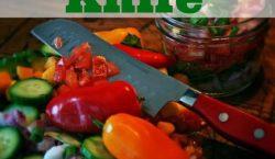 chef's knife, kitchen knife, kitchen investment, kitchen equipment