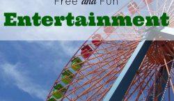fun entertainment, free entertainment