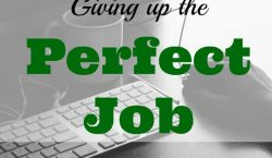 the perfect job, job opportunity, applying for a job