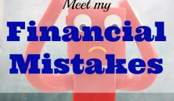 financial mistakes, money mistakes, debt, credit card