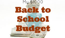 back to school budget, budget for college, budgeting