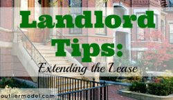 Landlord tips, lease, tenants, renting