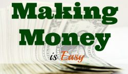 Making money, extra income