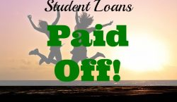 Student loans, student loan paid off, debt free, financial freedom