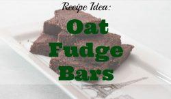 Oat Fudge Bars, desserts, coffee and fudge bars, coffee habits