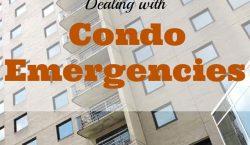 condo emergencies, emergencies, property emergency, broken pipe