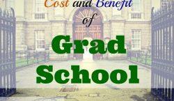 saving money, little things to do to save, grad school, cost of grad school, calculator, benefits of grad school