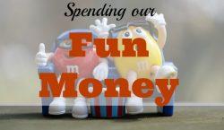 fun money, epicurean, extra budget,, spending money, spend money wisely