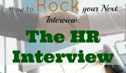 HR Interview, job interview, career advice