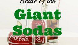the giant sodas, soda, soda in a bottle, diabetes, obesity issues