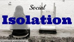 Social isolation, being alone, lonely, depression, cause of depression, anti-social
