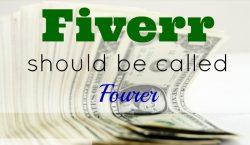 Fiverr, extra income, odd job, extra money