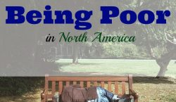 poor in North America, poor sector, middle class, status in life, frugal living