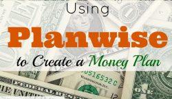 planwise, money app, financial app, create a money plan, money plan