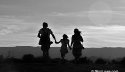 Family photo, Investing in your family's future, life insurance, securing the future, securing the family