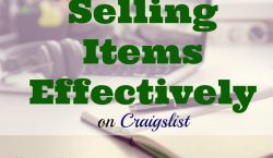 Selling items effectively, selling, craigslist, seller