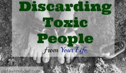 biohazard, toxic people, Discarding toxic people