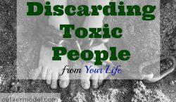 biohazard, toxic people, Discarding toxic people