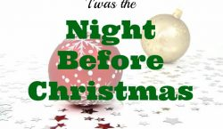 night before Christmas, Christmas, Holidays, gift giving, presents, Season of giving, gift giving
