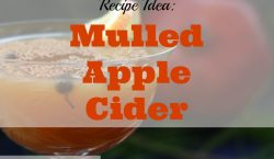 mulled apple cider, holiday drink,