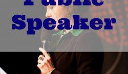 making a speech, effective public speaker, public speaking