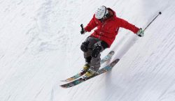 snowing on the mountain, skiing, personal finance blog, personal finance article, financial post, financial article