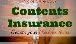 contents insurance, precious items, safety net