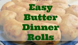 butter dinner rolls, bread, recipe idea, dinner rolls