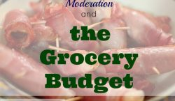 Grocery Budget, meal planning, food budget, bacon, grocery shopping