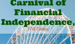 Carnival of Financial Independence, financial independence, financial goals, financial advice