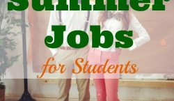 Summer jobs for students, extra income, summer job, make money