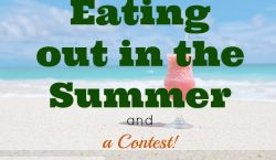 Eating out in the Summer, summer cash prize, cash giveaway, summer contest, worldwide contest