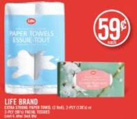Life Brand Paper Towels
